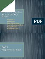 Presentasi Praktikum Analisis Struktur Material BAB 1