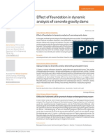 Effect of foundation in dynamic analysis of concrete gravity dams (2012) - Paper (6)