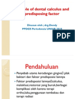 45555129 the Role of Dental Calculus and Other Predisposing