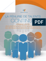 Pénuries de Talents 2014