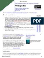 4000 Series CMOS Logic ICs