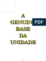 A Base Genuina da Unidade- Witness Lee