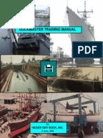 DoDockmaster Training Manual