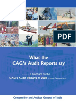 Brochure on CAG Audit Reports