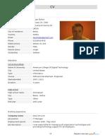 CV Dejan Zivkov