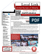 June July 2014 Newsletter