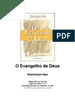 O Evangelho de Deus- Watchman Nee