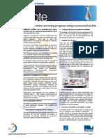 DFSV Note3 v2 AntibioticResidueScreeningProgramsUsingCommercialTestKits Jun 2006