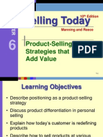 Personal selling strategies that add value