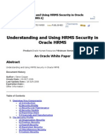 Understanding and Using HRMS Security in Oracle HRMS