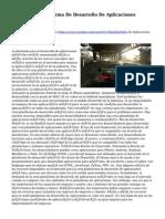Cruz De La Plataforma De Desarrollo De Aplicaciones Móviles