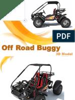 Off Road Buggy 3D Model