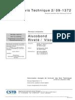 Avis Technique Alucobond (CSTB)