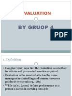 Ppt Evaluation
