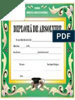 Diploma Absolvire
