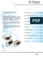Hughes Electronics 2014 catalogue - D Type Connectors Section