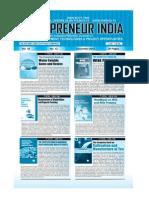 Entrepreneur India monthly magazine  December 2012