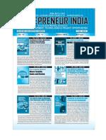 Entrepreneur India monthly magazine  October 2012