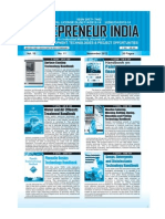 Entrepreneur India monthly magazine  November 2012