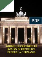 Ghidul Lucratorului Roman in Germania 2013