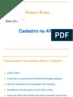 Passo-A-passo Cadastro ANP Res 12 2013