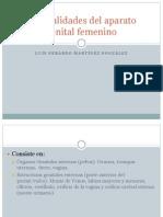 Generalidades Del Aparato Genital Femenino Ovario
