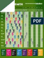 Calendrier PDF Coupe Du Monde 2014