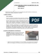 Info_3 Peso Unitario Ag. Grueso y Fino