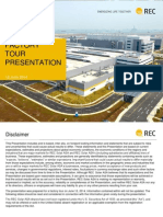 REC Factory Tour Presentation 12th June