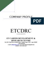 ETCDRC Business Proposal