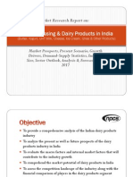 Milk Processing and Dairy Products in India