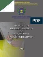 Manual de Geranciamento de Contratos Administrativos