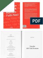 Fethi Naci - Yüz Yılın 100 Türk Romanı