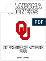 Oklahoma Air Raid Offense 1999