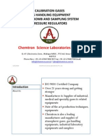 Chemtron Science Laboratories Pvt Ltd GAS and Engg