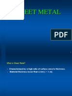 Sheetmetal Fundamentals