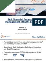 Sap Credit Management (FSCM) Overview