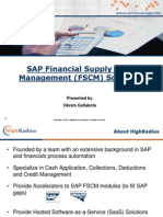 Sap Credit Management (FSCM) Overview