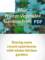 Four Winter Kitchen Gardens