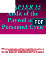 ch15 Audit of the Payroll and Personnel Cycle