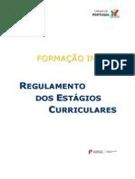 Regulamento de Estágio - Turismo de Portugal