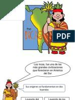 Power Point Para Guia de Actividades de Incas
