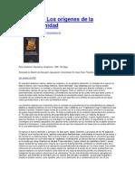 2000 Reseña Sobre Los Orígenes de La Posmodernidad
