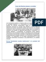 Voces y Expresiones de Diversos Grupos y Sociales