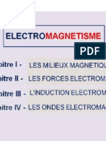 Electromagnet is e
