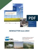 Newsletter Minor Sustainable Development - June 2014