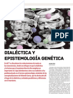 2014 Dialéctica y Epistemología Genética