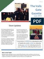 June 2014 Vails Gate Newsletter