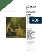Que Es El Druidismo