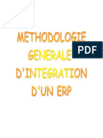 Methodologie Integration ERP